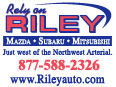 Riley Mazda-Subaru-Mitsubishi