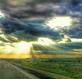Highway to Heaven. Taken August 13th, 2014 Highway 151 near Cascade Ia by Laurie Helling.