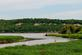 """A waterway that leads out to the Mississippi forms an """"S"""" curve.. Taken May 25, 2020 John Deere Marsh, Dubuque, IA by Veronica McAvoy."""