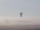 A water tower rises high above morning fog east of Peosta, Ia,. Taken Oct, 2019 East of Peosta, Ia. by Judy Lewis.