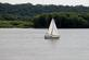 """Sailing"" on the Mississippi river.. Taken August 4, 2018 A. Y. McDonald park, Dubuque, IA by Veronica McAvoy."