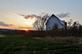 Barn sunset.. Taken November 8, 2020 Dubuque, Iowa by Veronica McAvoy.