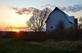 Sunset by the barn.. Taken November 8, 2020 Dubuque, Iowa by Veronica McAvoy.
