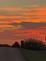 sunset tonight. Taken tonight  Thunder hills Peosta by judith a simon.
