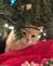 Grandma's Christmas Claudie. Taken Christmas eve Grandma's house by Cali Otting.