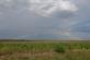 Found, a rainbow in a cornfield. Taken August 16, 2018 Near Lamotte, Iowa by Veronica McAvoy.