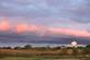 Clouds turn pink against the setting sun.. Taken October 16, 2017 Plaza Drive, Dubuque, IA by Veronica McAvoy.