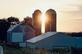 Silo sunset. Taken August 10, 2019 Olde Massey Road, Dubuque County  by Deanna Tomkins.