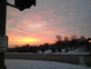 Beautiful Sunrise. Taken Wednesday, November 26 at 7:00 a.m. Corner of S. Grandview & Dodge by Aleeyah Kreiss.