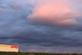 A big pink cloud over a movie theatre.. Taken October 16, 2017 Plaza Drive, Dubuque, IA by Veronica McAvoy.