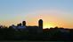Silo sunset. Taken October 17, 2021 Dubuque, Iowa by Veronica McAvoy.
