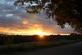 Breaking Through.  The sunset breaks through the dark clouds. . Taken September 28, 2016 Dubuque, Ia by Laurie Helling.