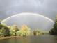 Double Rainbow. Taken Saturday?, ?May? ?23?, ?2020 6:51 PM Mississppi River outside of Frentress Marina by Laura Watson.